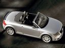 Фото авто Audi TT 8N [рестайлинг], ракурс: сверху