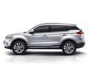 Фото авто Geely Atlas 1 поколение, ракурс: 90 - рендер цвет: серебряный