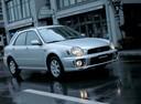 Фото авто Subaru Impreza 2 поколение, ракурс: 315 цвет: серебряный