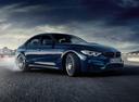 Фото авто BMW M3 F80 [рестайлинг], ракурс: 315 цвет: синий