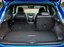 Фото авто Nissan Qashqai 2 поколение [рестайлинг], ракурс: багажник цвет: голубой