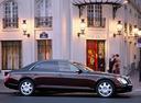 Фото авто Maybach 57 1 поколение, ракурс: 270 цвет: бордовый