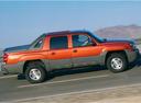 Фото авто Chevrolet Avalanche 1 поколение, ракурс: 270