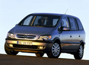 Фото авто Opel Zafira A [рестайлинг], ракурс: 45