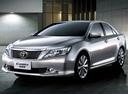 Фото авто Toyota Camry XV50, ракурс: 45 цвет: серебряный