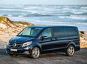 Фото авто Mercedes-Benz V-Класс W447, ракурс: 45 цвет: синий