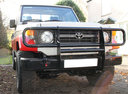 Фото авто Toyota Land Cruiser J70 [рестайлинг], ракурс: 315