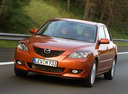 Фото авто Mazda 3 BK, ракурс: 45 цвет: бронзовый