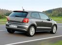 Фото авто Volkswagen Polo 5 поколение, ракурс: 225 цвет: серый