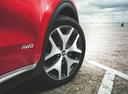 Фото авто Kia Sportage 4 поколение, ракурс: колесо цвет: красный
