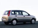 Фото авто Ford Fusion 1 поколение, ракурс: 225 цвет: серебряный