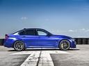 Фото авто BMW M3 F80 [рестайлинг], ракурс: 270 цвет: синий