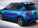Фото авто Changan CS35 1 поколение, ракурс: 135 - рендер цвет: синий