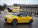 Фото авто Citroen DS3 1 поколение, ракурс: 90 цвет: желтый