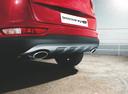 Фото авто Kia Sportage 4 поколение, ракурс: задняя часть цвет: красный