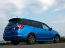 Фото авто Subaru Exiga 1 поколение, ракурс: 225 цвет: синий