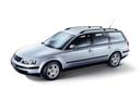 Фото авто Volkswagen Passat B5, ракурс: 45 цвет: серебряный