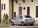 Фото авто Skoda Fabia 6Y, ракурс: 135 цвет: серебряный