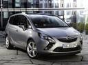 Фото авто Opel Zafira C, ракурс: 315 цвет: серебряный