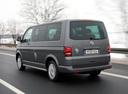 Фото авто Volkswagen Multivan T5 [рестайлинг], ракурс: 135 цвет: серый