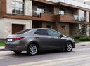 Фото авто Toyota Corolla E170 [рестайлинг], ракурс: 225 цвет: серый