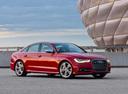 Фото авто Audi S6 C7, ракурс: 270 цвет: красный