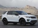 Фото авто Land Rover Discovery Sport 1 поколение, ракурс: 315 цвет: белый