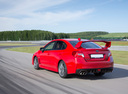 Фото авто Subaru Impreza 4 поколение, ракурс: 135 цвет: красный
