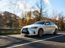 Фото авто Lexus IS XE30 [рестайлинг], ракурс: 45 цвет: белый