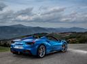 Фото авто Ferrari 488 1 поколение, ракурс: 225 цвет: синий