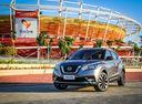 Фото авто Nissan Kicks P15, ракурс: 45 цвет: серый