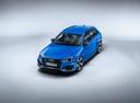 Фото авто Audi RS 4 B9, ракурс: сверху цвет: голубой