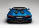 Фото авто Lamborghini Aventador 1 поколение [рестайлинг], ракурс: 180 цвет: синий