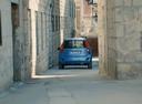 Фото авто Suzuki Splash 1 поколение [рестайлинг], ракурс: 180 цвет: голубой
