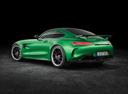 Фото авто Mercedes-Benz AMG GT C190 [рестайлинг], ракурс: 135 цвет: зеленый