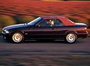Фото авто BMW 3 серия E36, ракурс: 90 цвет: бордовый