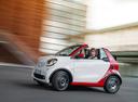 Фото авто Smart Fortwo 3 поколение, ракурс: 90 цвет: белый
