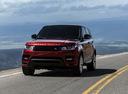 Фото авто Land Rover Range Rover Sport 2 поколение, ракурс: 45 цвет: оранжевый