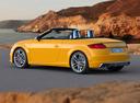 Фото авто Audi TT 8S, ракурс: 135 цвет: желтый