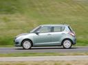 Фото авто Suzuki Swift 4 поколение, ракурс: 90 цвет: зеленый