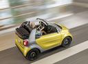 Фото авто Smart Fortwo 3 поколение, ракурс: сверху цвет: желтый