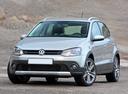 Фото авто Volkswagen Polo 5 поколение, ракурс: 45 цвет: бежевый