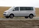 Фото авто Volkswagen Multivan T5, ракурс: 90 цвет: серебряный
