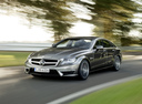Фото авто Mercedes-Benz CLS-Класс C218/X218, ракурс: 45 цвет: серый