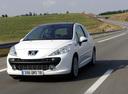 Фото авто Peugeot 207 1 поколение, ракурс: 45 цвет: белый