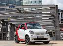 Фото авто Smart Fortwo 3 поколение, ракурс: 315 цвет: белый