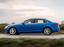 Фото авто Audi A4 B9, ракурс: 90 цвет: голубой