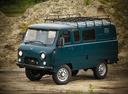 Фото авто УАЗ 452 2 поколение, ракурс: 45 цвет: синий