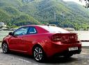 Фото авто Kia Cerato 2 поколение, ракурс: 135 цвет: красный