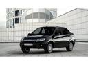 Фото авто ВАЗ (Lada) Granta 1 поколение, ракурс: 45 цвет: черный